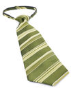 Green Necktie Stock Photography