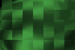 Green Neon abstract plaid design. With square shaped texture Royalty Free Illustration