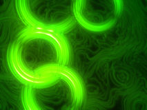Green neon background Royalty Free Stock Photography