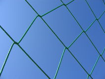 Green Net. Of a soccer goal royalty free stock images