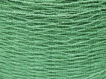 Green Net in Close Position Royalty Free Stock Image