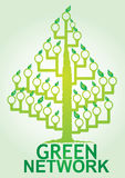 Green  Network Royalty Free Stock Photography