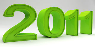 Green New Year Stock Photos