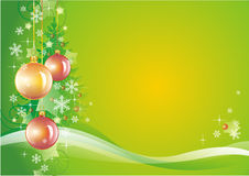 Green New Year background Royalty Free Stock Photo