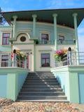 Old beautiful building, Latvia Royalty Free Stock Image