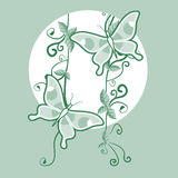 Green nice decorative Stock Photo