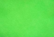 Green nonwoven fabric texture Royalty Free Stock Photos
