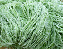 Green noodle Stock Image