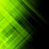Green northern lights, aurora borealis. EPS 10 Stock Photography