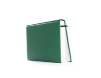 Green  Notebook isolated Royalty Free Stock Photo