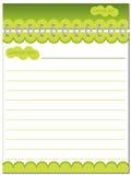 Green Notes Stock Photos