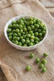 Green nut Stock Photo