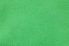 Green nylon fabric texture Royalty Free Stock Image