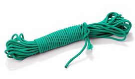 Free Green Nylon Rope Royalty Free Stock Photos - 11267328