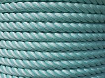 Green Nylon rope Royalty Free Stock Photography
