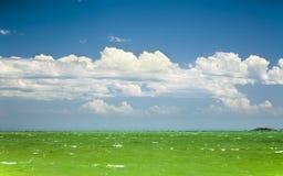 Green ocean Royalty Free Stock Image