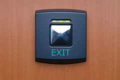 Green on/off switch Stock Photography