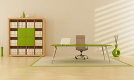 Green office Royalty Free Stock Image