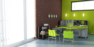 Green office Stock Photography