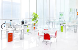 Green Office Indoors Furniture Concept Royalty Free Stock Photos