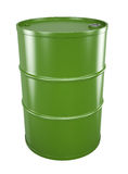 Green oil drum Stock Images