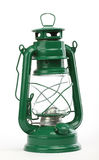 Green oil lamp Royalty Free Stock Images