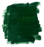 Green oil paint Stock Photos