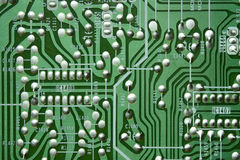 Free Green Old Circuit Board Royalty Free Stock Images - 21802679