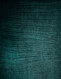 Green old fabric texture Royalty Free Stock Photos