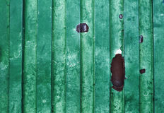 Green old grungy metal surface - background - texture Stock Photo