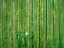 Green old metal sheet texture. Royalty Free Stock Image