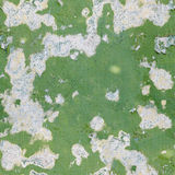 Green old paint on a concrete wall - seamless background Royalty Free Stock Photography