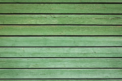 Green old painted wooden background Royalty Free Stock Photo