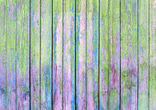 Green old painted wooden background Royalty Free Stock Image