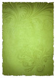 Green old paper Royalty Free Stock Photos