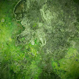 Green old rust metal plate background royalty free stock photos