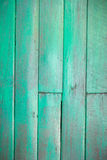 Green old wood Stock Photo