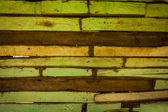 Green Old Wood Background stock photography
