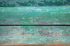 Green old wood Stock Images