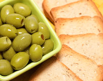 Green olive Stock Images