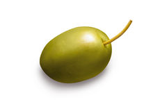Green olive Royalty Free Stock Photo