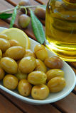 Green olive stock photos