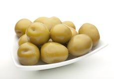 Green olive vegetable Stock Image