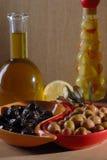 Green olives Stock Photo