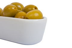 Green olives Royalty Free Stock Images