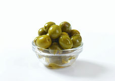 Green Olives Stock Photography