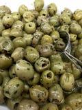 Green Olives Royalty Free Stock Photos