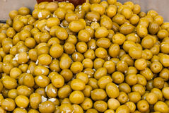 Green olives, Machane Yehuda Market, Israel Stock Photos