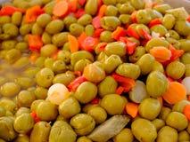 Green olives Royalty Free Stock Photo