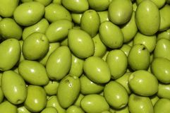 Green olives. Olive green, very good to be retained in brine or dunks with spices and spicy product from which we get a good oil Stock Photo
